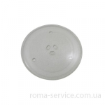 ТАРІЛКА TRAY COOKING;NC2000,NC06,GLASS,T5,255mm, PN DE74-00027A