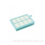 Фильтр FILTER, AIR, HEPA13 FILTER WASHABLE FC9170 PN 432200493350